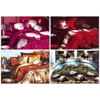 Rosewell Microtex Disperse Bedcover + Sprei 100x200