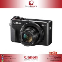 Canon PowerShot G7X Mark II Digital Camera (DataScrip)