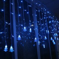 [globalbuy] 3.5M Colorful LED Light Strip Christmas Decoration Icicle Lights Xmas Tree Han/4417168