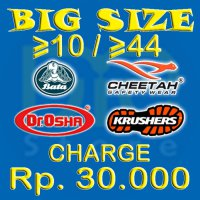 Big Size for Bata/Cheetah/Dr.Osha/Krushers