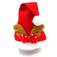 [globalbuy] Cute Christmas Hat Xmas Party Ornament Santa Claus Reindeer Warm Hat Festive C/4416906