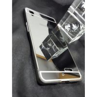 LIMITED Oppo R7 / R7 Lite Bumper Metal Mirror Sliding Backcase Cover Case