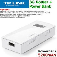TP-Link M5360 3G Mobile WiFi Power Bank 5200mAh