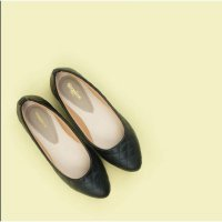 TEQUILLA Black, Handmade, Big Size, Flat Shoes