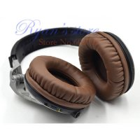 [globalbuy] Protein Brown Ear pads earpads cushion replacement for Pioneer HDJ1000 HDJ2000/3633523