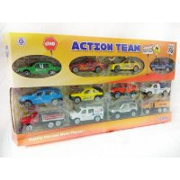 DISKON Die Cast Mobil Action Team