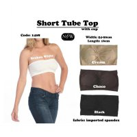 Neednwant Short Tubetop CUP / Removable Bra