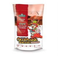 Orgran Mini Outback Animals Chocolate Cookies Multipack - 175g