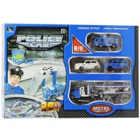 Die Cast RAILWAY POLICE CAR METAL