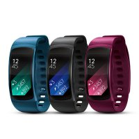 [SAMSUNG] Gear Fit 2 GPS Sports Band / Smart Watch Band / Hearbeat Fitness Widget Cycling Running