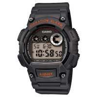 Jam Tangan Pria Digital Sports Casio Original Vibration Alarm W-735H-8