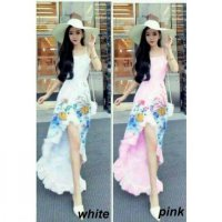 baju wanita Dress Flow Mermaid Cantik