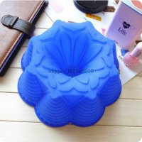 [globalbuy] big silicone cake molds crown DIY cake mold flower bread moulds novelty pastry/1611076