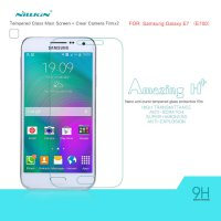 Nillkin Samsung Galaxy E7 Amazing H+ Anti-Explosion Tempered Glass 9H 0.33mm - Rounded Edge