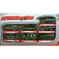 #Diecast Mobil Die Cast Street Machine Army 7 pcs