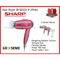 Hair Dryer Sharp IB-SD23Y-P - Pink