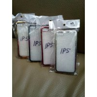SOFT CASE IPHONE 5 /SILICON CHROME