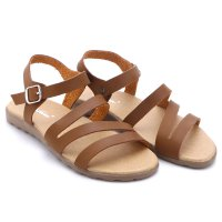 Dr.Kevin Leather Sandals 26106 Brown, 26106 Blue