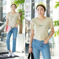 American short sleeve tee [CA90] korean fashion ship from korea
