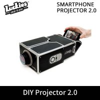 [DIY Smartphone Projector 2.0] DIY Mobile Phone Projector Portable Mini Cinema for iPhone Android