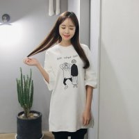 [NBlook] ROOF short sleeve women style from to korea free shipping