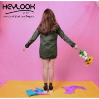(Ready) ORIGINAL SIMPLE PARKA HEYLOOK ARMY JAKET BOMBER WANITA OUTWEAR BLAZER