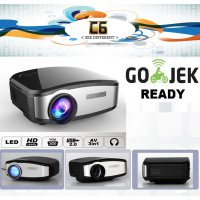 Proyektor CHEERLUX C6 Mini Projector Portable LED LCD 1200 Lumens TV