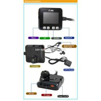 [globalbuy] Top quality dual lens motor vehicle camera DVR with R1S lens and GPS tracker f/4522971