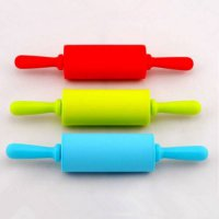 [globalbuy] 9 Inch Play Doh Kitchen Party Fun Child's Silicone Dough Roller Fondant Paste /1783638