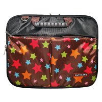 Ultimate Laptop Bag Double Pop Star 10 inch - Coklat