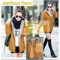 Brown Anastasya Fleece Jacket