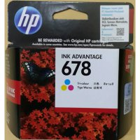HP INK / TINTA 678 COLOR / TRI COLOR / ORIGINAL