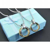 Kalung Couple Titanium Kode KC056