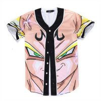 [globalbuy] New Arrive Baseball Shirts Men Soprting Tops 3D Printed Classic Anime Series B/4180543