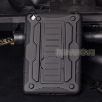 Apple iPad Mini, Mini 2, Mini 3 - Future Armor Hardcase with Stand
