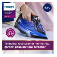 [PHILIPS] Setrika Uap Optimal Temp - GC3920 [Smart Iron]