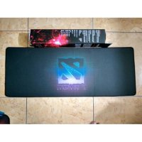 Extended Mousepad Panjang steelseries dota2 black Speed Jahit Pinggir