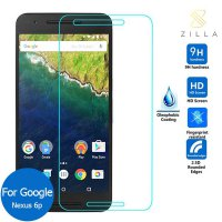 Zilla 2.5D Tempered Glass Curved Edge 9H 0.26mm for Huawei Nexus 6p