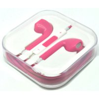 Apple Earphones High Quality for iPhone 5 (OEM) - Pink