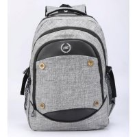 CATENZO | TAS RANSEL / BACKPACK CASUAL LAPTOP PRIA + RAIN COVER - ST 050