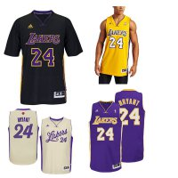 Jersey Basket NBa LA Lakers #24 Kobe Bryant Swingman