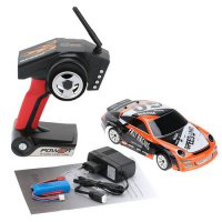 [globalbuy] 1:24 2.4Ghz Radio Remote Control Rechargeable Drift Car Brushed A252 EU Plug/4561964