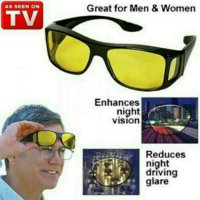 HD Vision Wrap Around - Kacamata Anti Silau - Isi 2 pcs