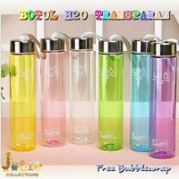 JOLIECOLLECTIONS BOTOL MINUM H2O TRANSPARANT / MY BOTTLE INFUSED WATER / BOTOL MINUM H2O BENING