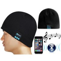 Topi Kupluk Multifungsi / Bluetooth Knit Beanie with Hands-free Calls