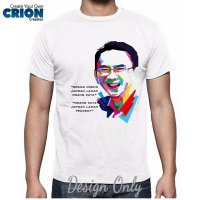Kaos Ahok - Ahok Face Smile - By Crion