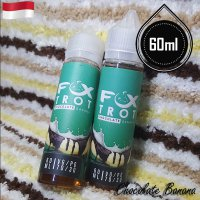 Fox Trot 60ml Eliquid Vape - Chocolate Banana (Premium Liquid)