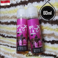 Fox Trot 60ml Eliquid Vape - Chocolate Strawberry (Premium Liquid)