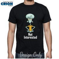Kaos Spongebob - Squidward Not Intrested by Crion