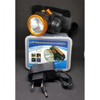 senter kepala lithium kecil sx-999 led putih / headlamp led white SJ0089